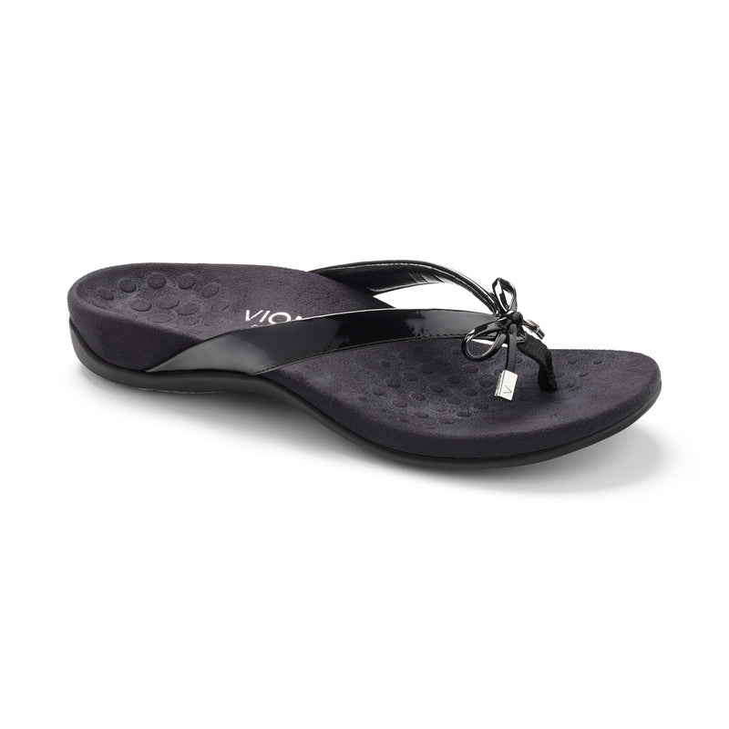 Vionic Women's Rest Bella II Toepost in Black