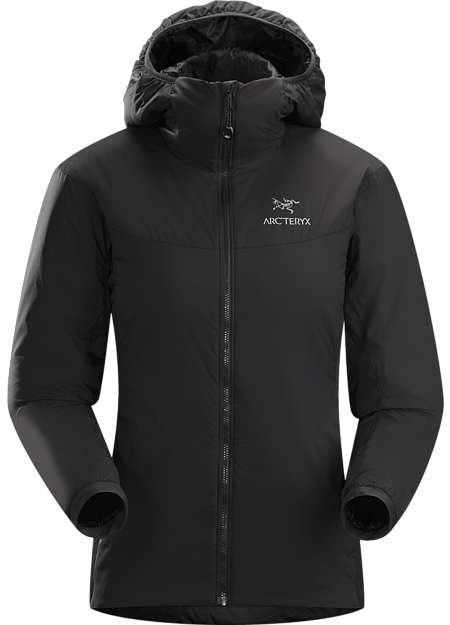 Arc'teryx Women's Atom LT Hoody in Black