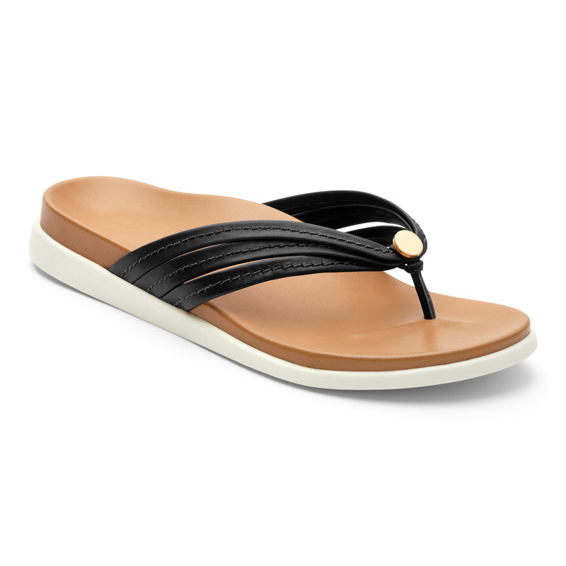 Vionic Women's Palm Catalina Toepost in Black