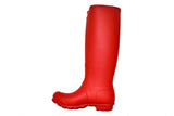 Hunter Women's Original Tall Rain Boot in Military Red