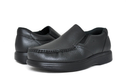 SAS Men's Side Gore in Black Wide