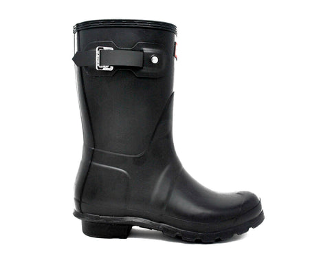 Hunter Women's Original Short Rain Boots in Black