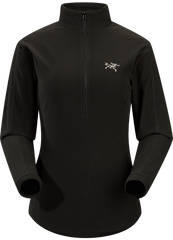 Arc'teryx Women's Delta LT Zip Jacket in Black