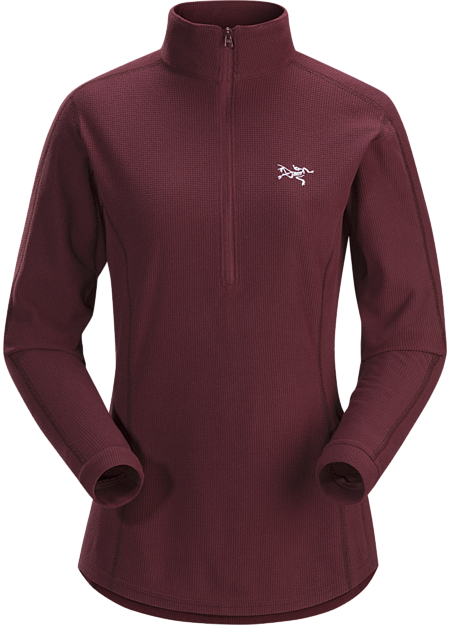 Arc'teryx Women's Delta LT Zip Jacket in Crimson