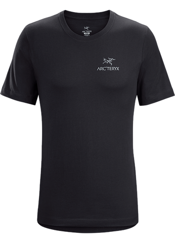 Arc'teryx Men's Emblem SS T-Shirt in Black