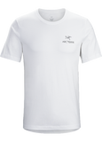 Arc'teryx Men's Emblem SS T-Shirt in White