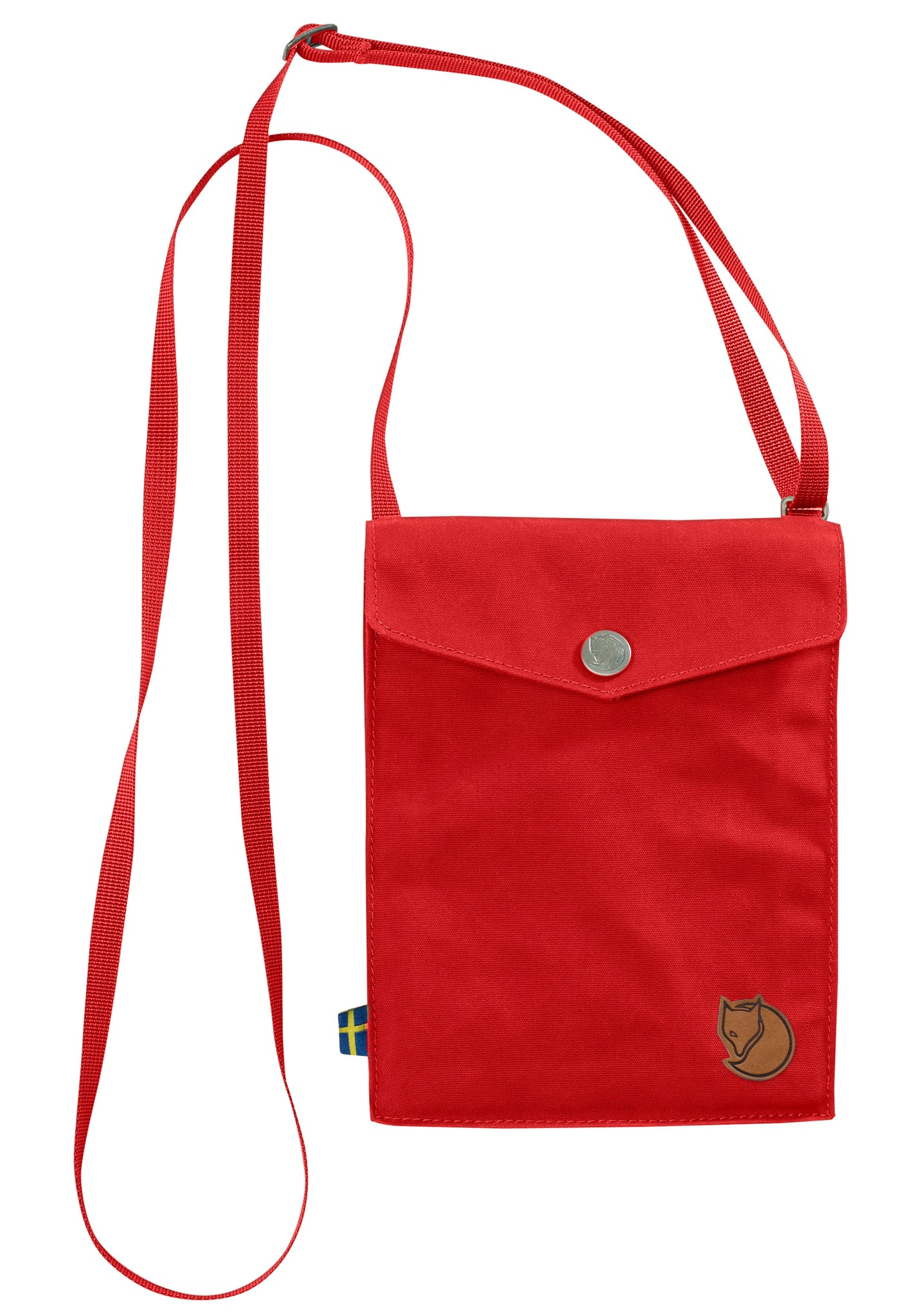 Fjallraven Pocket Shoulder Bag in Red
