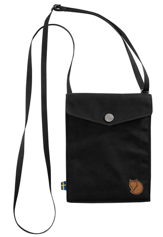 Fjallraven Pocket Shoulder Bag in Black