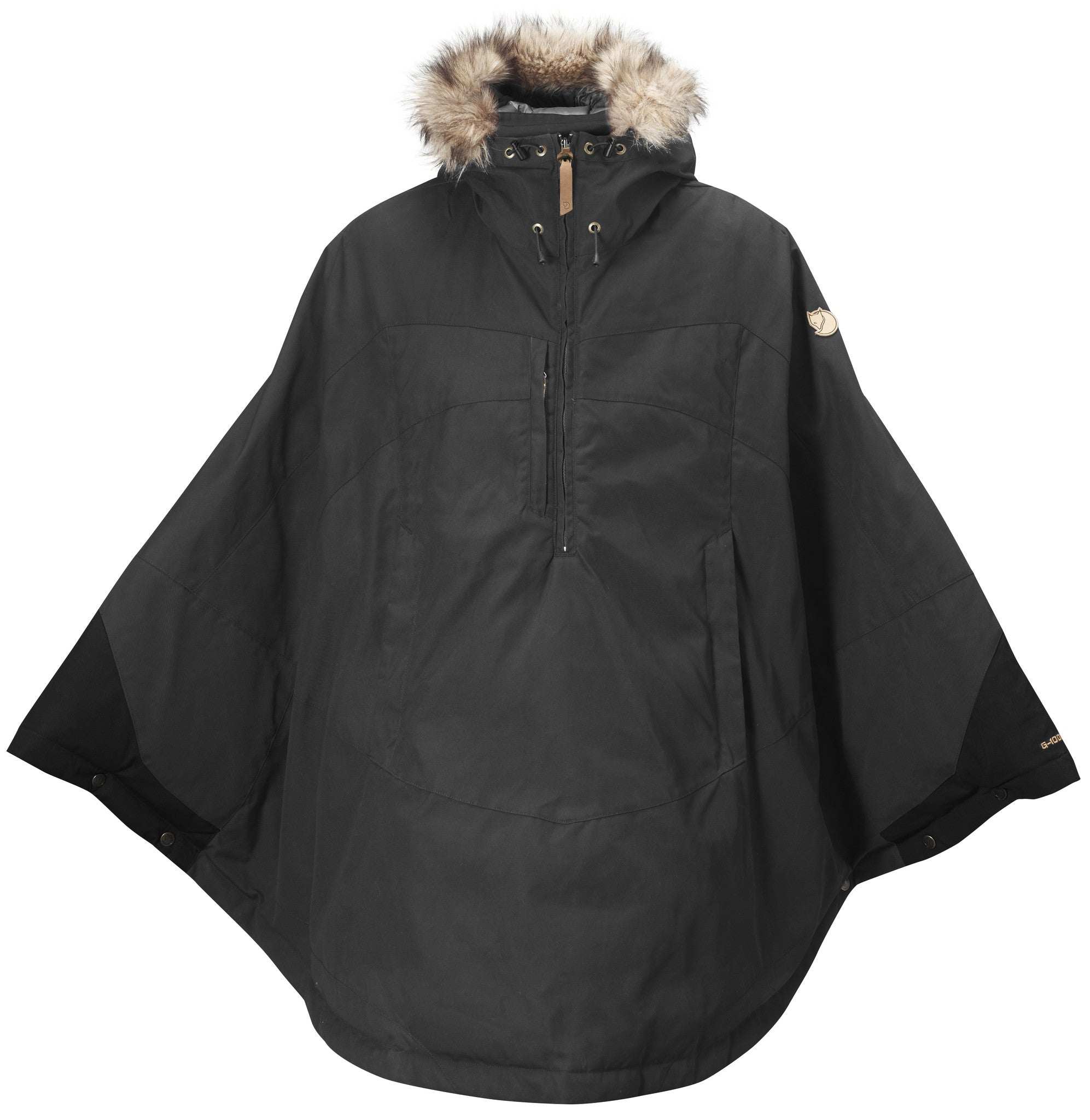 Fjallraven Women's Luhkka Jacket in Dark Grey