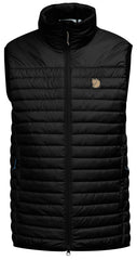 Fjallraven Women's Abisko Padded Vest in Black