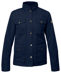 Fjallraven Women's Raven Jacket in Dark Navy