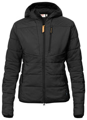 Fjallraven Women's Keb Padded Hoodie in Black