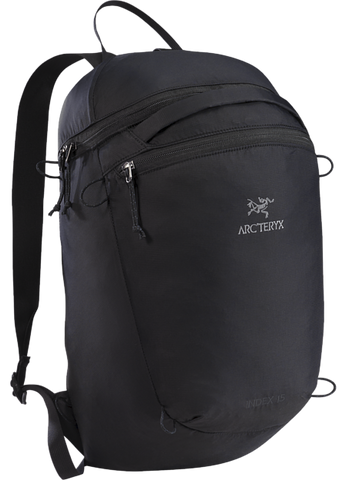 Arc'teryx Index 15 Backpack in Black
