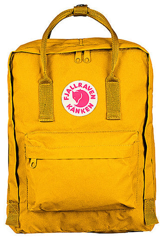 Fjallraven Kanken Classic Daypack in Warm Yellow