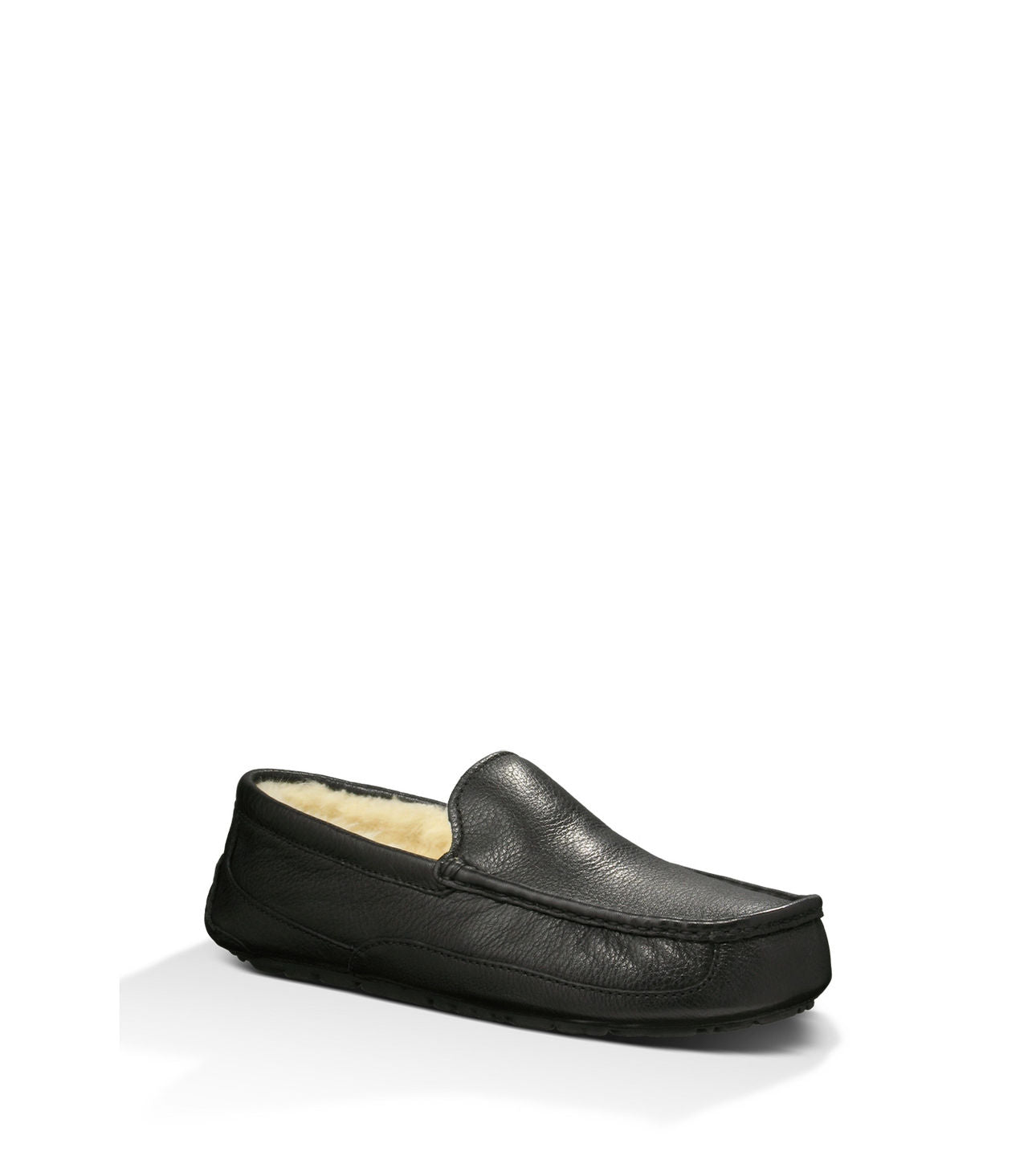 UGG Australia Men's Ascot in Black Leather
