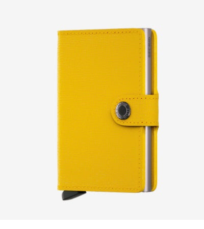 Secrid Miniwallet in Crisple Lemon