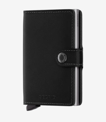 Secrid Miniwallet in Original Black