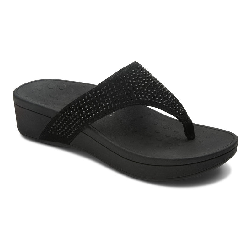 Vionic Women's Pacific Naples Toepost in Black