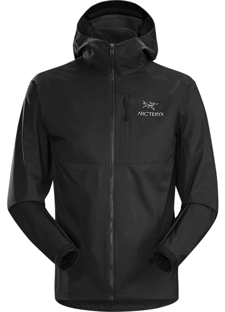 Arc'teryx Men's Squamish Hoody in Black