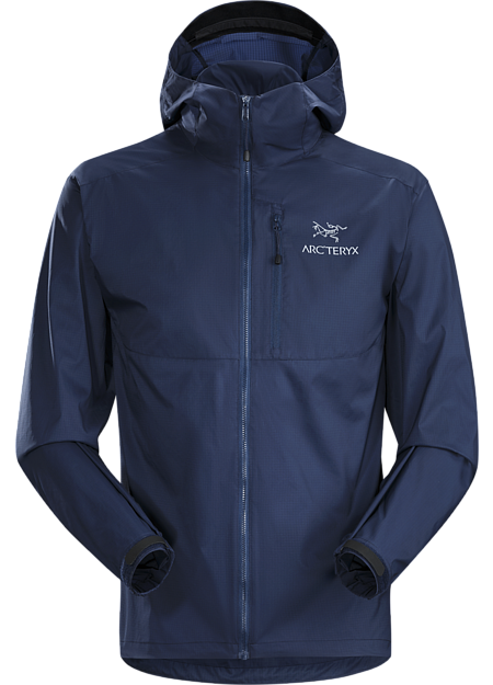 Arc'teryx Men's Squamish Hoody in Nighthawk