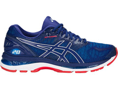 Asics Men's GEL-Nimbus 20 in Blue Print/Race Blue