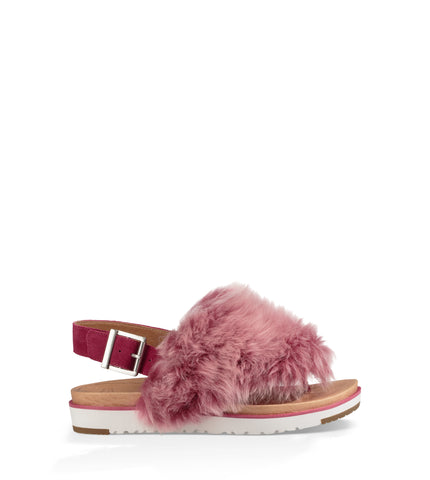UGG Women's Holly Sandal in Cerise
