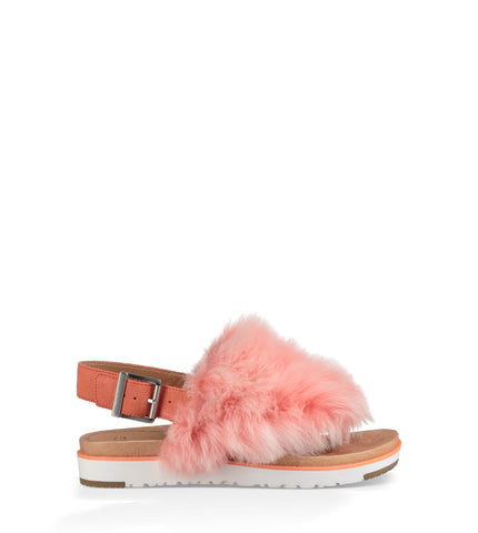 UGG Women's Holly Sandal in Fusion Coral