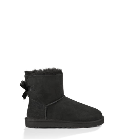UGG Australia Women Mini Bailey Bow in Black