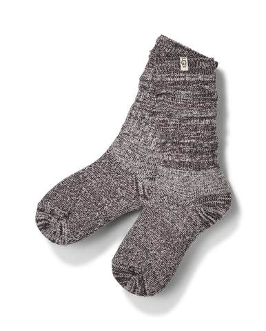 UGG Australia Women's Rib Knit Slouchy Crew Sock in Nightfall