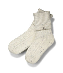 UGG Australia Women's Sienna Short Rain Boot Sock in Cream