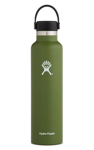 Hydro Flask 24 oz Standard Mouth in Olive