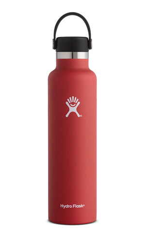 Hydro Flask 24 oz Standard Mouth in Lava