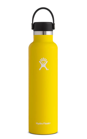 Hydro Flask 24 oz Standard Mouth in Lemon