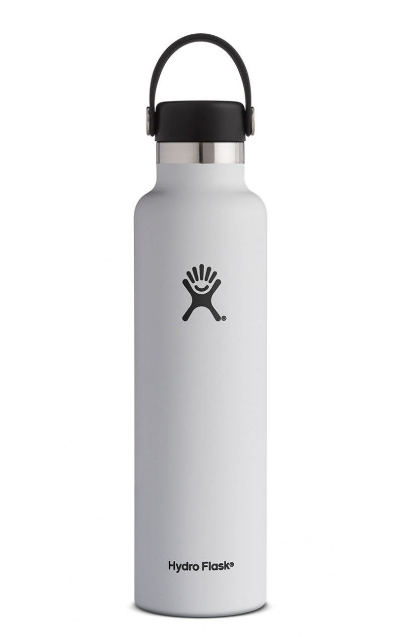Hydro Flask 24 oz Standard Mouth in White