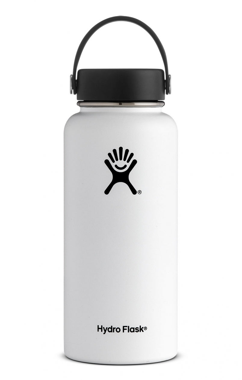 Hydro Flask 32 oz Wide Mouth in White