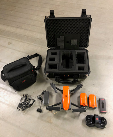 Pre-Owned Autel EVO with 3 Batteries and Hard Case