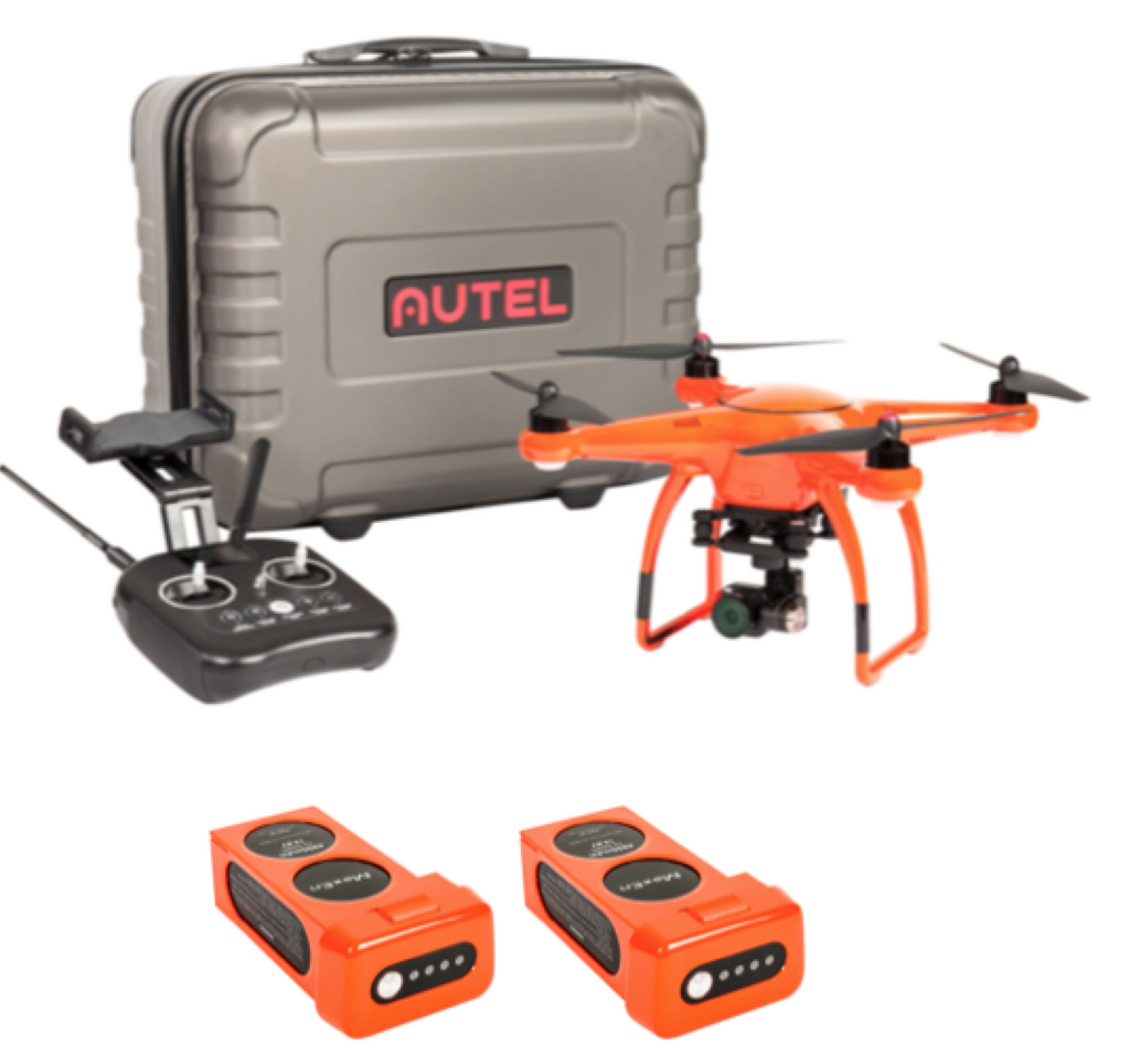 Autel Robotics X-Star Premium 4K Camera, Hard Case 1 Extra Battery (Orange) - Carolina Dronz - 1