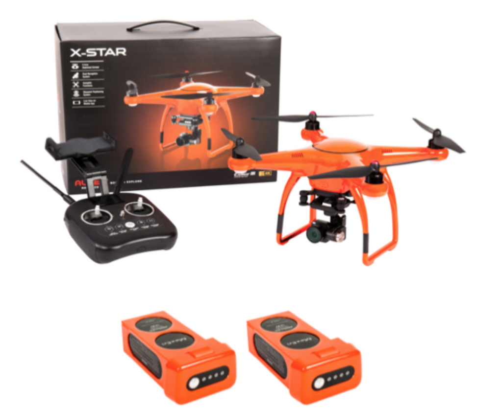 Autel Robotics X-Star 4K WIFI Camera, (Orange) 1 Extra Battery - Carolina Dronz - 1
