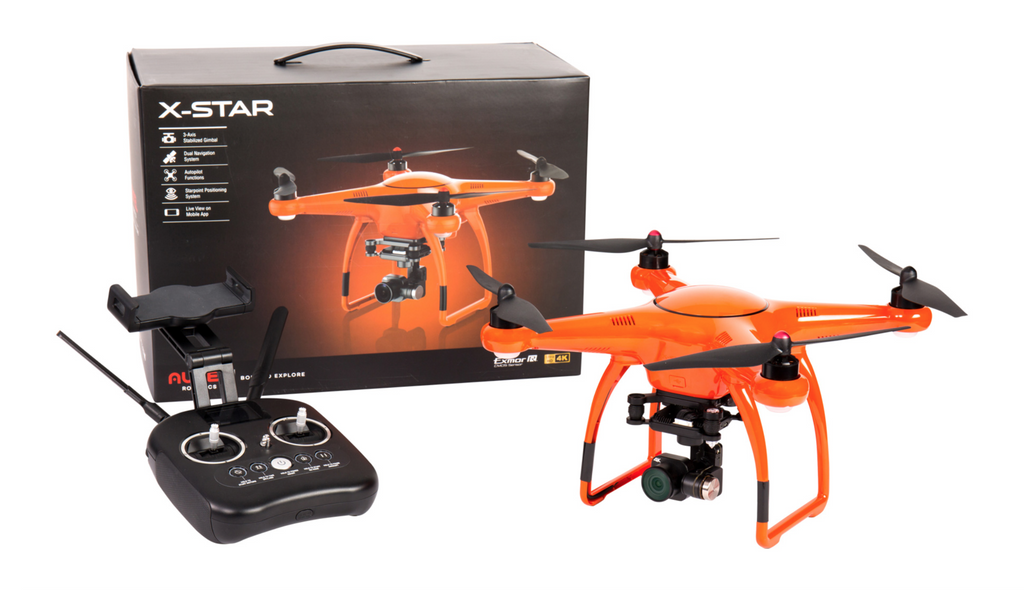 Autel Robotics X Star 4k Wifi Camera Orange Carolina Dronz