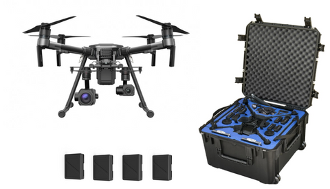 CrossFlight DJI Matrice 210 w/ Z30 Zoom Camera & XT 13mm Thermal Camera Package