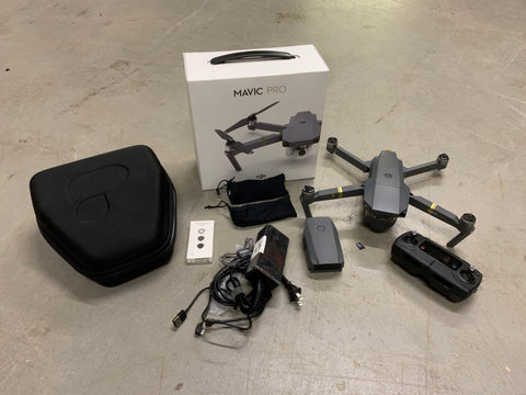 Pre-Owned DJI Mavic Pro (Refurb) with 2 Batteries