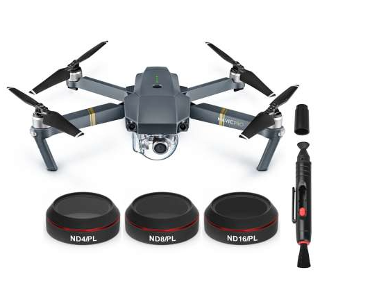 Freewell DJI Mavic Pro 3 PC Hybrid 4K Filter Pack