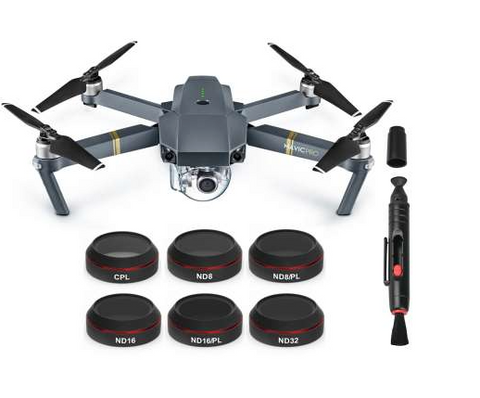 Freewell DJI Mavic Pro Filter 6 PC Kit