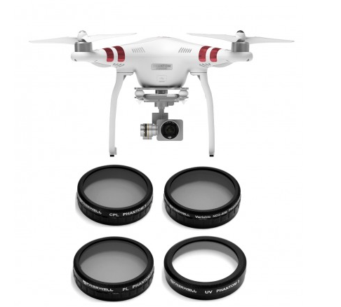 Freewell Phantom 3 Filter (4 Pack) - Carolina Dronz