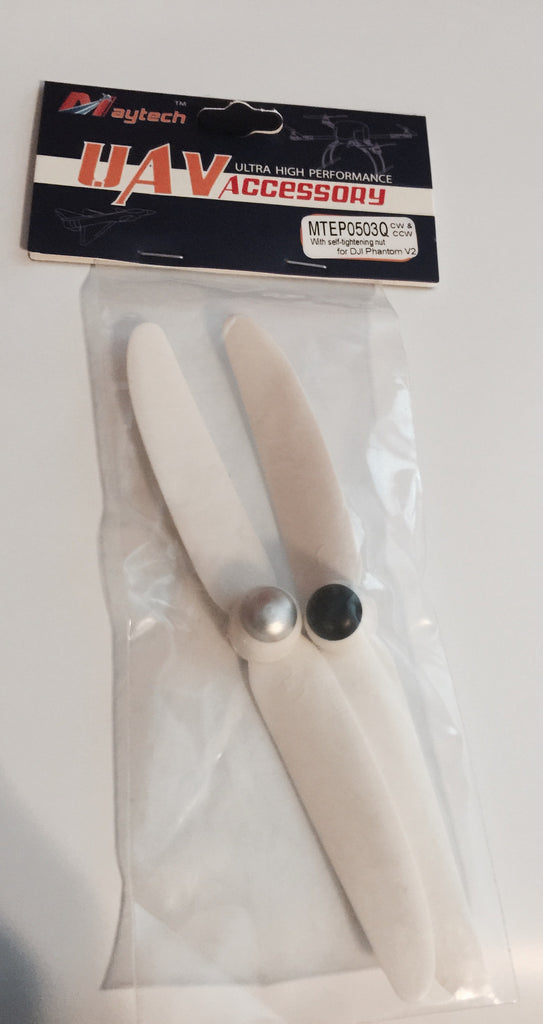 Maytech 250mm Quadcopter 0503 GlassFiber propellers White - Carolina Dronz - 2