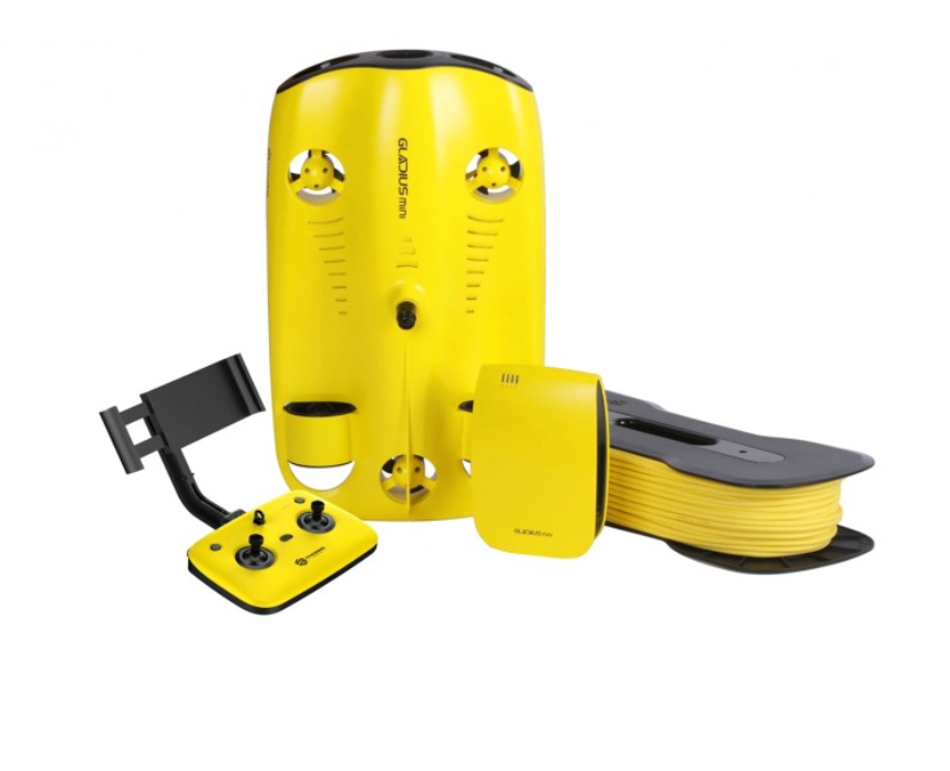 Pre-Owned Chasing Gladius Mini-size Underwater Drone with 100ft Tether and Backpack