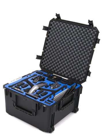 GO PROFESSIONAL CASES INSPIRE 2 LANDING MODE CASE WITH X7 CAMERA AND CENDENCE RADIO