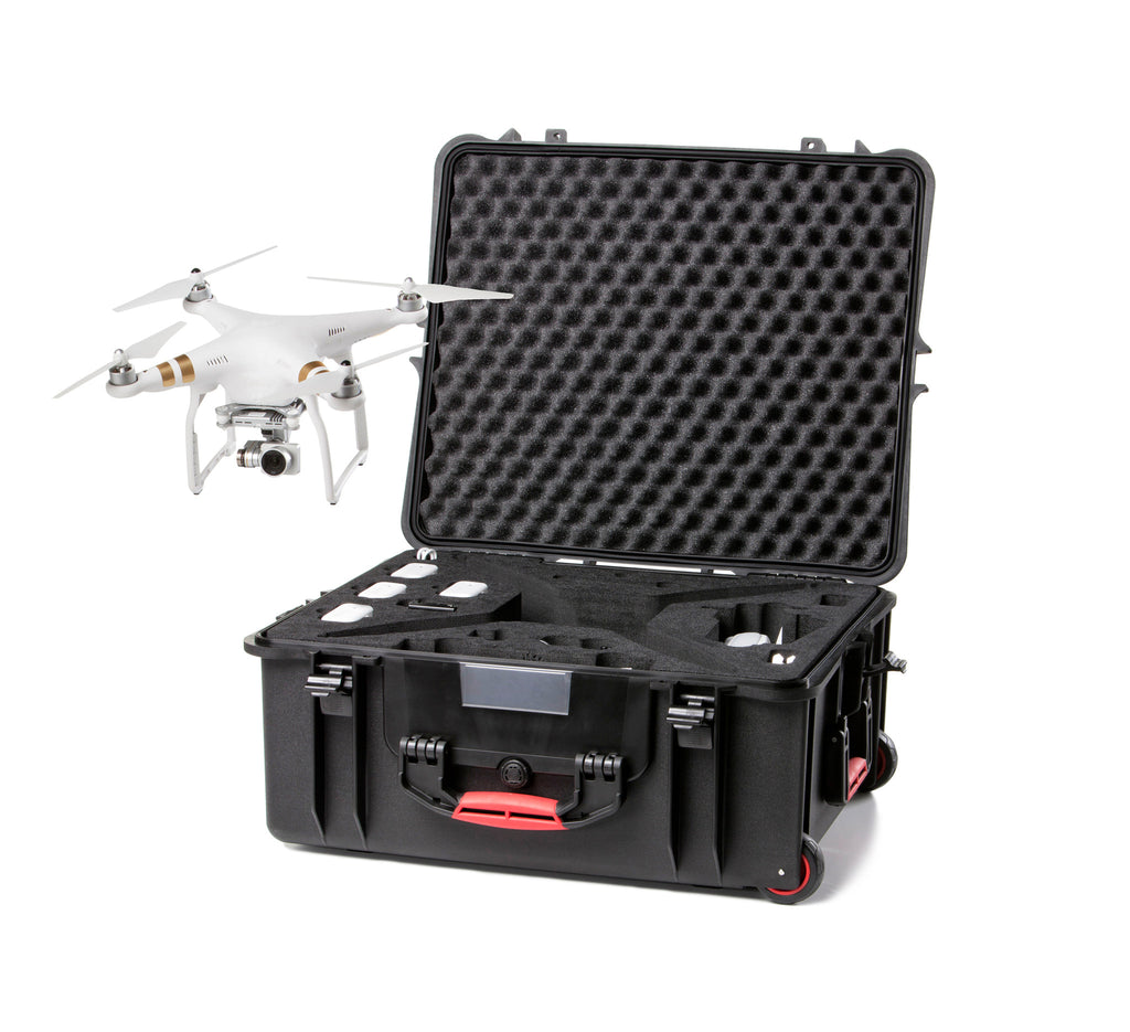 HPRC PHANTOM 3 WHEELED CASE - Carolina Dronz - 1