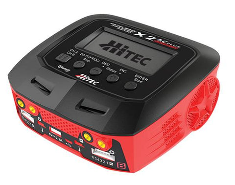 HiTec X2 AC Plus Black Edition Multi-Funtion Dual Charger