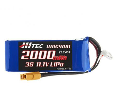 Hitec Power Battery for the QuadRacer 280
